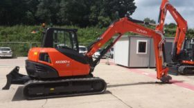 1) KUBOTA KX080-4 Digger Hire