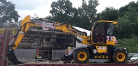 JCB 110W Hydradig For Hire