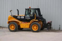 The JCB 520-50 Telehandler  for Hire