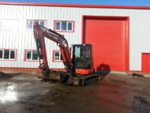 5) Kubota U55 Mini Digger Hire