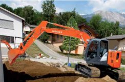 Hitcachi Zaxis 135US-5B For Hire