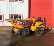 Thwaites 6T Swivel Skip Dumper for Hire