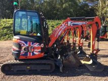 GB Mini Diggers for Hire