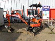 2) Kubota U17 Mini Digger Hire