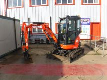 3) Kubota U20 Mini Digger Hire
