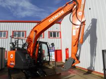 2) Hitachi Zaxis 135US-5B Digger Hire